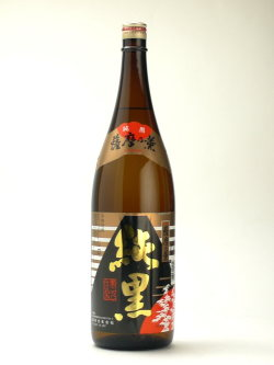 薩摩の薫 純黒 1800ml